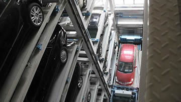 升降式立体停车库