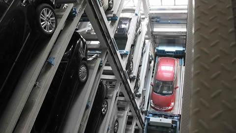 垂直升降方形立体车库